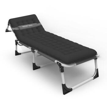 瑞仕达 Restar 折叠床办公室单人简易午休床医院陪护户外行军床折叠躺椅带支撑杆三折床含珍珠棉厚棉垫套餐