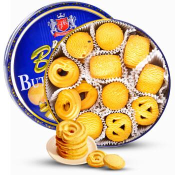 马来西亚进口 GPR黄油曲奇饼干340g 铁罐装 年货礼盒 儿童休闲零食糕点