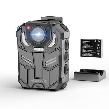 群华(VOSONIC)D6执法记录仪107克超轻携带1296P红外夜视12小时连续录像24小时连续录音内置32G
