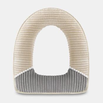 FOOJO 马桶垫 保暖加厚马桶垫圈 马桶套 坐便圈垫 驼色