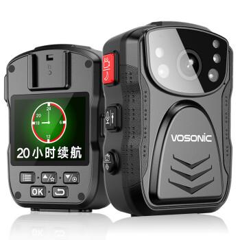 群华(VOSONIC)D5升级版执法记录仪20小时连续录像1296P红外夜视内置64G