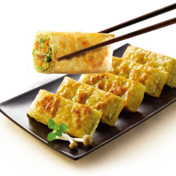 必品阁(bibigo)粉条煎饺 250g  2件起售(10只装 饺子 锅贴 早餐 韩餐)
