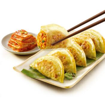 必品阁(bibigo) 泡菜煎饺 250g 2件起售(饺子 锅贴 早餐食材 辣白菜)