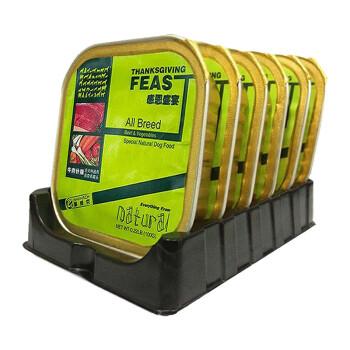 耐威克(Navarch)狗罐头 全犬种通用 牛肉什锦 宠物湿粮100g*6盒