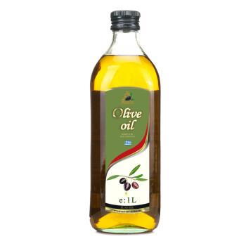 希腊进口 AGRIC阿格利司 橄榄油 1L瓶装 食用油(新老包装随机发放)
