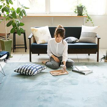 迈亚地毯亮光珊瑚绒加厚客厅卧室短绒地毯 160*230cm灰色