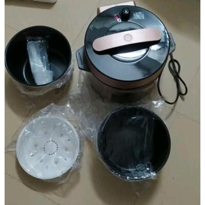 大神吐槽:美的YL50Q3-451電高壓鍋效果怎么樣,使用二個月感受