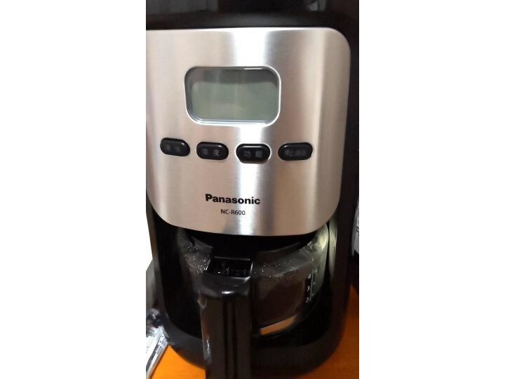 松下(Panasonic)磨豆豆粉咖啡机NC-R600怎么样?质量口碑如何,真实揭秘 艾德评测 第10张
