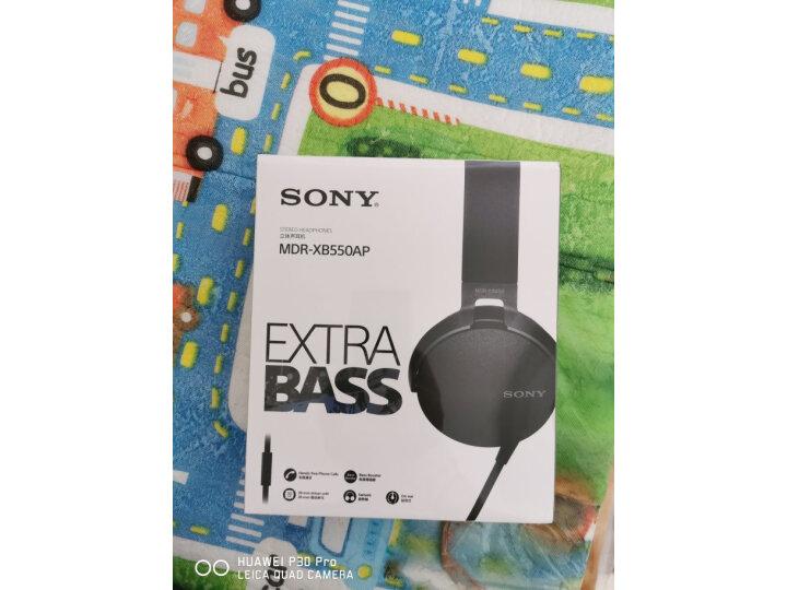 索尼(SONY)MDR-XB550AP 重低音立体声耳机么样_质量靠谱吗_在线求解 艾德评测 第1张