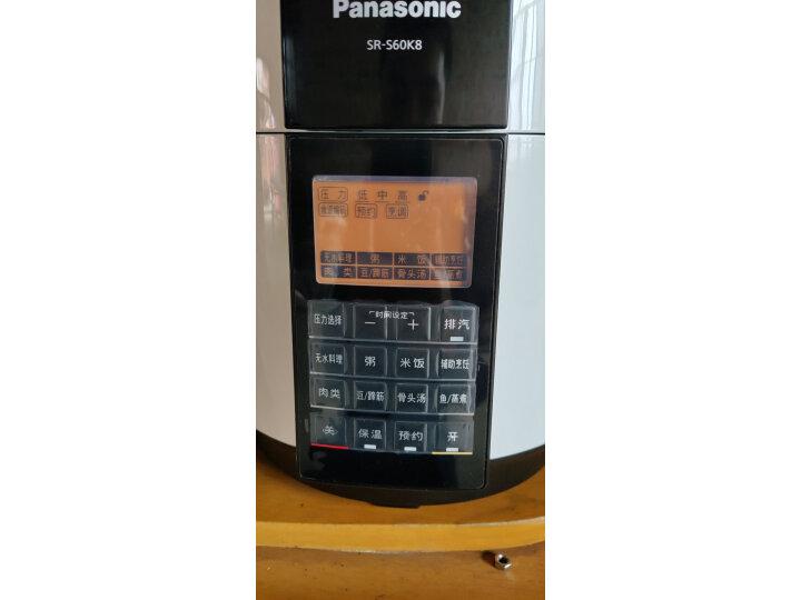 松下(Panasonic)6L智能电压力锅SR-S60K8怎么样?质量口碑如何,真实揭秘 选购攻略 第2张