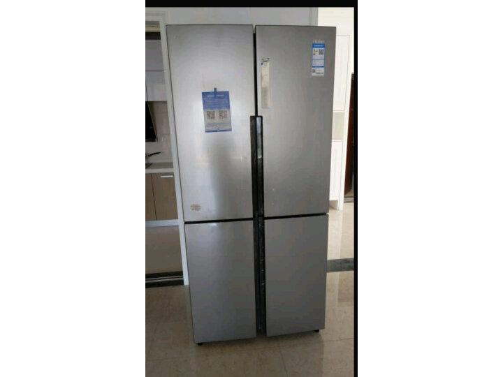 海尔( Haier) 481升 无霜变频T型十字对开门冰箱BCD-481WDVSU1新款测评怎么样??质量有缺陷吗【已曝光】 每日推荐 第10张