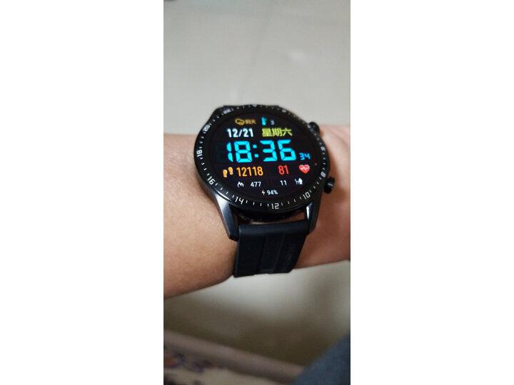HUAWEI WATCH GT2(46mm)曜石黑 华为手表怎么样,真实质量内幕测评分享 艾德评测 第11张