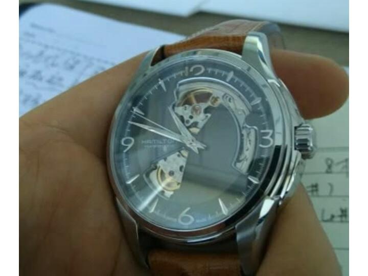 评测:汉米尔顿 瑞士手表爵士系列全镂空自动机械男士腕表H42505510好吗?质量曝光不足点有哪些? 评测 第10张