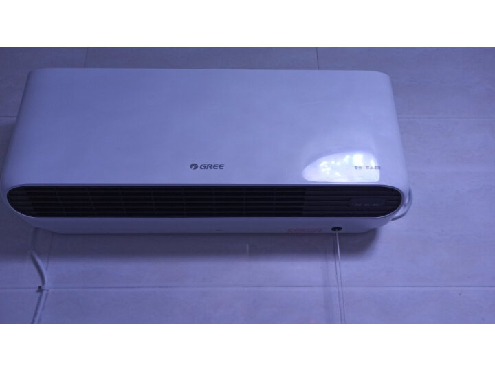 打假测评:格力 家用壁挂式暖风机IPX4级防水浴室电暖器NBFC-X6020评测如何?质量怎样?质量评测,内幕大揭秘 _经典曝光 众测 第9张