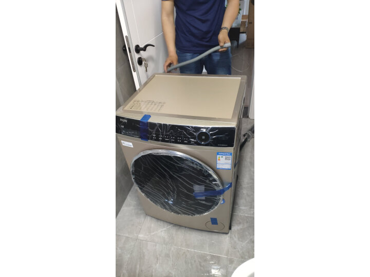 海尔(Haier)10KG直驱变频滚筒洗衣机EG10014BD809LGU1质量新款测评怎么样???质量很烂是真的吗【使用揭秘】 首页 第4张