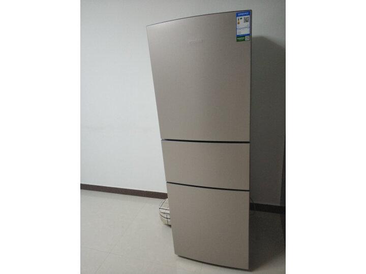 【同款测评分享】容声(Ronshen) 252升 三门冰箱BCD-252WD11NPA怎么样【用户吐槽】质量内幕详情 首页 第4张