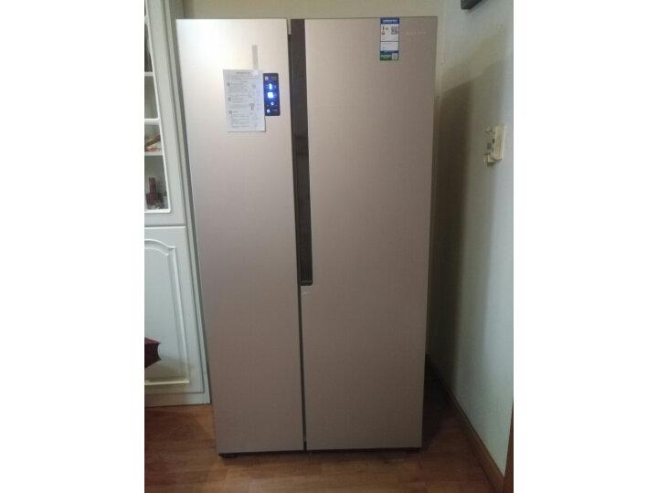 容声(Ronshen) 529升 对开门冰箱BCD-529WD11HP怎么样质量如何,网上的和实体店一样吗_【菜鸟解答】 _经典曝光-艾德百科网