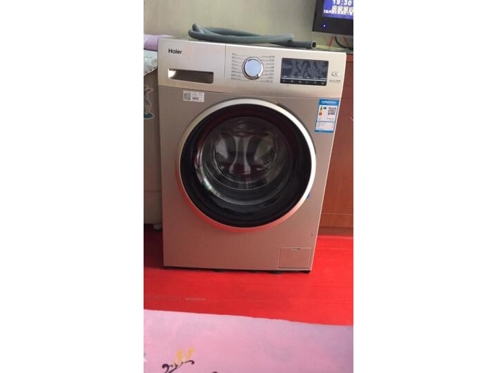 海尔(Haier) 10KG全自动BLDC变频滚筒高温除菌洗衣机EG10014B39GU1怎么样?为什么爆款,质量详解分析 艾德评测 第10张