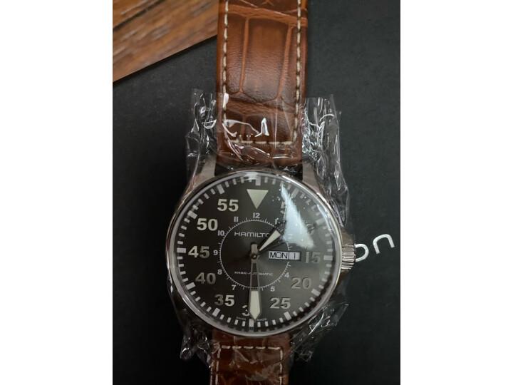 汉米尔顿(HAMILTON)瑞士手表卡其航空系列H64715885怎么样?质量评测如何,说说看法 评测 第3张