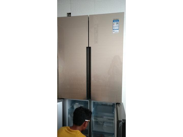 海尔(Haier)460升双变频无霜干湿分储T型十字门冰箱BCD-460WDGZ怎么样【入手必看】最新优缺点曝光-苏宁优评网