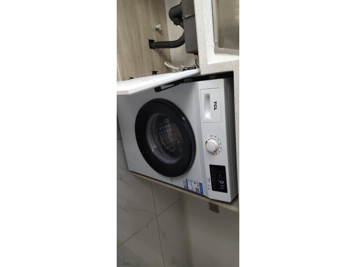 TCL 8公斤免污式免清洗变频全自动滚筒洗衣机XQGM80-S500BJD质量如何?亲身使用体验内幕详解 好货众测 第5张