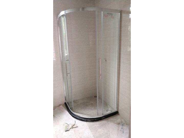 箭牌(ARROW) 整体淋浴房弧扇形钢化玻璃简易淋浴房隔断怎么样?媒体评测,质量内幕详解 艾德评测 第6张
