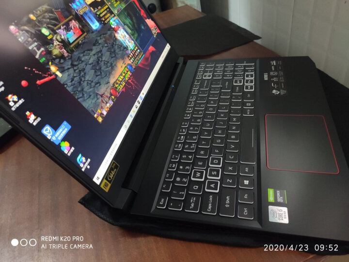 宏碁(Acer)暗影骑士·擎 15.6英寸 2020款 144Hz高色域真电竞屏怎样【真实评测揭秘】入手揭秘真相究竟怎么样呢?【好评吐槽】 _经典曝光 众测 第23张