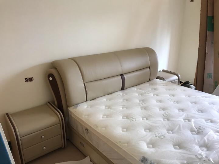 (直降)全友家居皮床 现代简约头层牛皮双人床 主卧室1米8软床 真皮婚床带软靠 105125质量如何?好不好,质量如何【已解决】 好货爆料 第10张