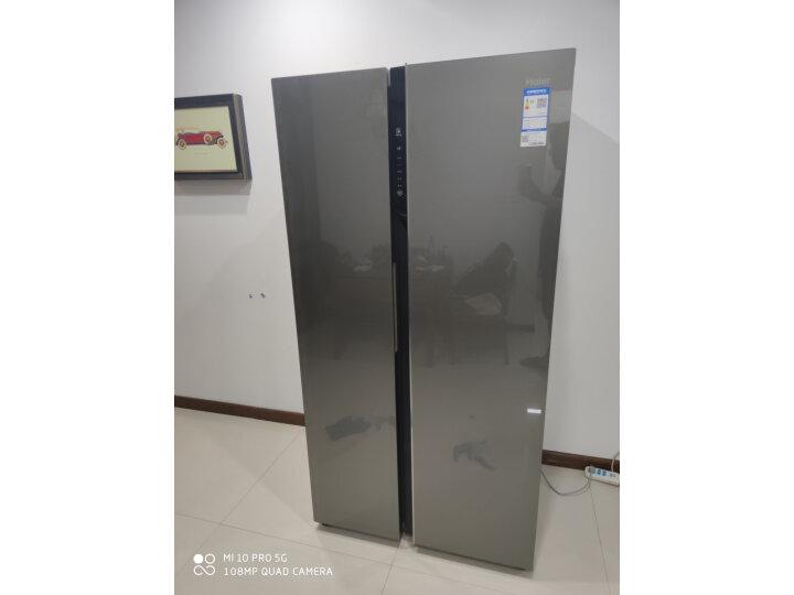 海尔(Haier )601升 双变频风冷无霜对开门冰箱BCD-601WDGX怎么样?上档次吗,亲身体验诉说感受 艾德评测 第11张