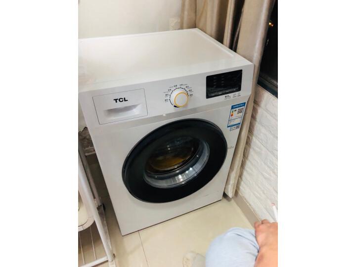 TCL 8公斤免污式免清洗变频全自动滚筒洗衣机XQGM80-S500BJD质量如何?亲身使用体验内幕详解 好货众测 第8张