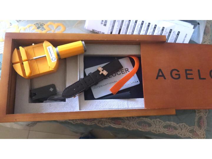艾戈勒(agelocer)瑞士手表 男士镂空商务全自动机械表5401D9怎么样?为什么爆款,质量内幕评测详解) 评测 第6张