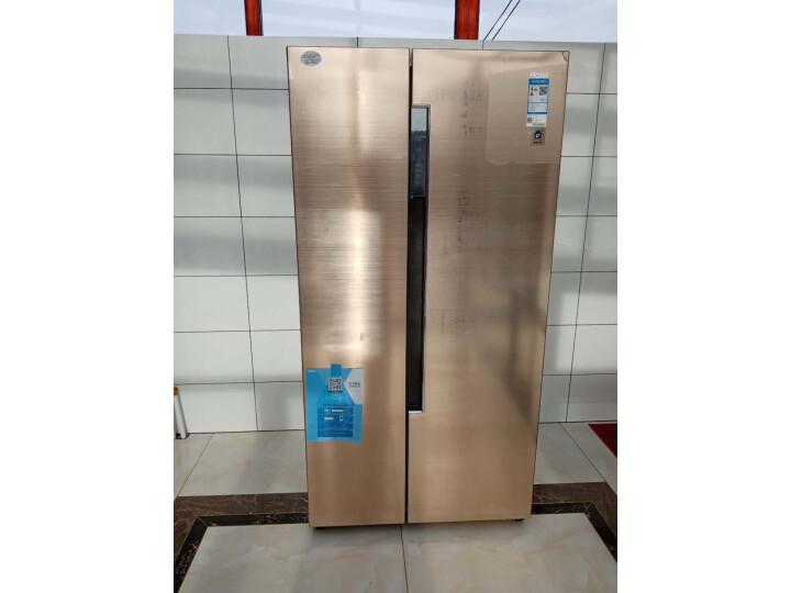 海尔 (Haier)596升双变频风冷无霜对开门双开门冰箱BCD-596WDBG怎么样?对比评测分享【有图有真想】 选购攻略 第4张