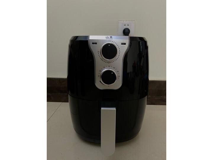 山本(SHANBEN)SB-6918空气炸锅家用智能无油烟电炸锅真实测评分享?真实买家评价质量优缺点如何 艾德评测 第4张