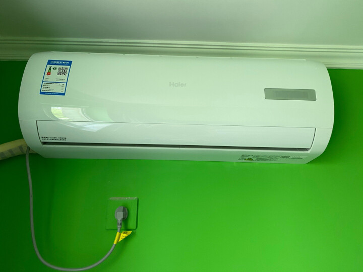 海尔 (Haier)大1匹变频壁挂式卧室空调挂机KFR-26GW 03EDS81A怎么样【半个月】使用感受详解 每日推荐 第8张