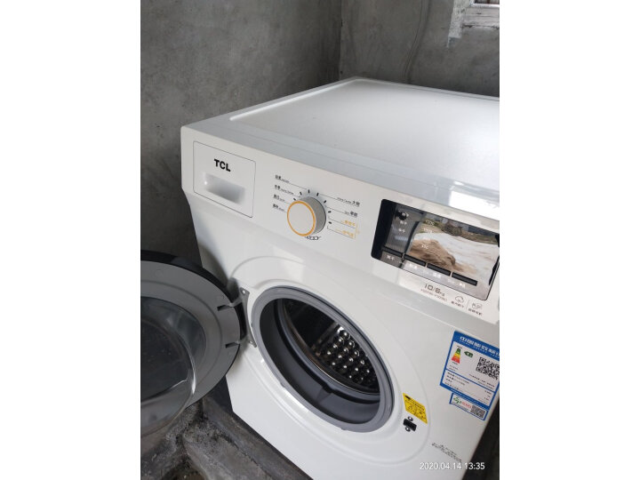 TCL 10公斤洗烘一体变频全自动滚筒洗衣机XQG100-P300BD怎么样?老婆一个月使用感受详解-艾德百科网