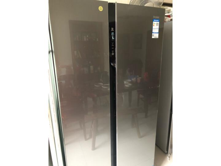 海尔(Haier )601升 双变频风冷无霜对开门冰箱BCD-601WDGX怎么样?上档次吗,亲身体验诉说感受 艾德评测 第8张