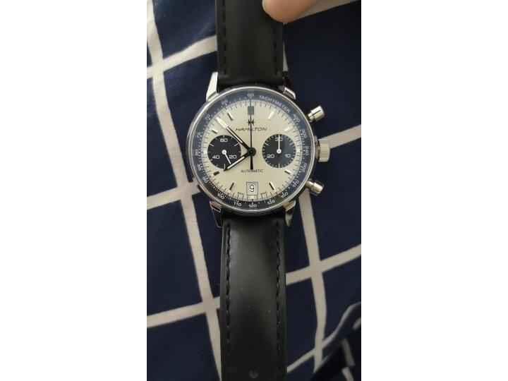 揭秘汉米尔顿 瑞士手表美国经典系列臻薄自动机械H38416544怎么样?质量对比参考评测 评测 第3张