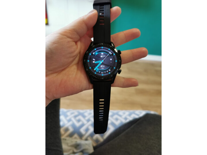HUAWEI WATCH GT2(46mm)新年红 双表带 华为智能手表质量可靠吗,最真实使用感受曝光【必看】 艾德评测 第6张