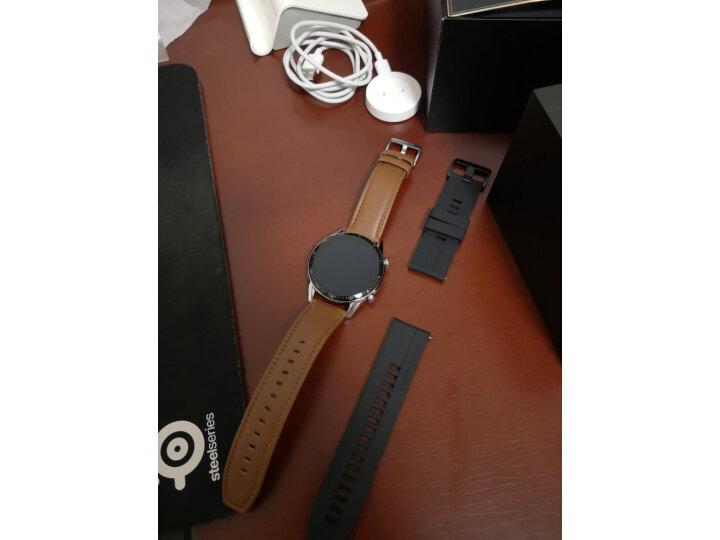 HUAWEI WATCH GT2(46mm)砂砾棕 华为手表怎么样?质量口碑反应如何【媒体曝光】 艾德评测 第6张