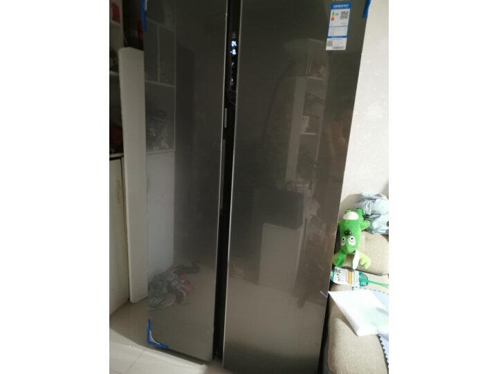海尔(Haier )601升 双变频风冷无霜对开门冰箱BCD-601WDGX怎么样?上档次吗,亲身体验诉说感受 艾德评测 第7张
