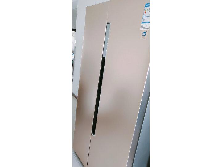 海尔 (Haier)596升双变频风冷无霜对开门双开门冰箱BCD-596WDBG怎么样?对比评测分享【有图有真想】 选购攻略 第12张