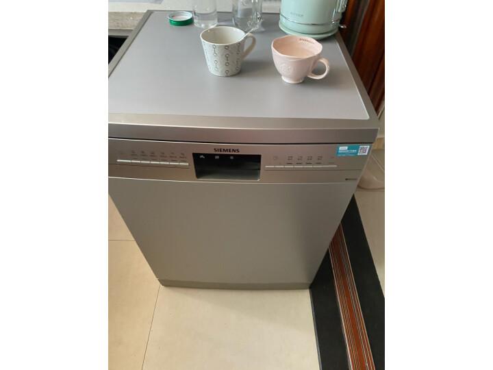 西门子(SIEMENS)智能家用 全自动洗碗机SJ236I01JC质量口碑如何网友大爆料!是不是坑 值得评测吗 第9张