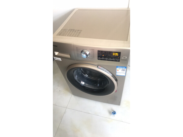 海尔(Haier) 10KG全自动BLDC变频滚筒高温除菌洗衣机EG10014B39GU1怎么样?为什么爆款,质量详解分析 艾德评测 第5张