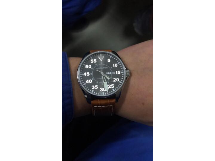 汉米尔顿(HAMILTON)瑞士手表卡其航空系列H64715885怎么样?质量评测如何,说说看法 评测 第5张