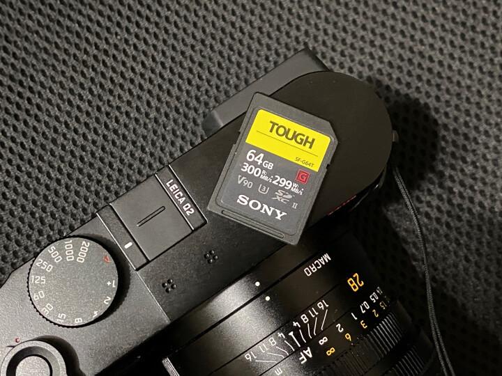 索尼SF-G128T T1 SF-G系列128g TOUGH规格SD卡读取新款测评怎么样??入手使用感受评测,买前必看-苏宁优评网