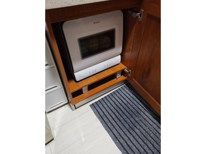 格力(GREE)鲸云系列洗碗机 京品家电WQP4-03R口碑评测曝光?3个月体验感受对比曝光大公开 艾德评测 第3张