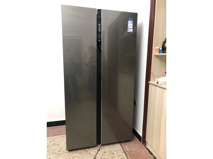 海尔(Haier )601升 双变频风冷无霜对开门冰箱BCD-601WDGX怎么样?上档次吗,亲身体验诉说感受 艾德评测 第3张