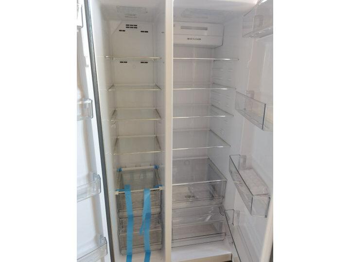 海尔 (Haier)596升双变频风冷无霜对开门双开门冰箱BCD-596WDBG怎么样?对比评测分享【有图有真想】 选购攻略 第8张