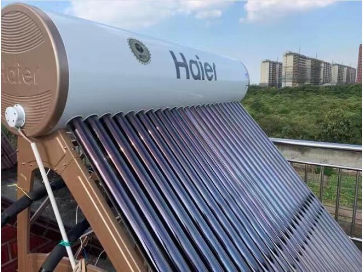 力诺瑞特 100升高层阳台壁挂太阳能热水器入手爆料内幕?老婆一个月使用感受详解 好货众测 第2张
