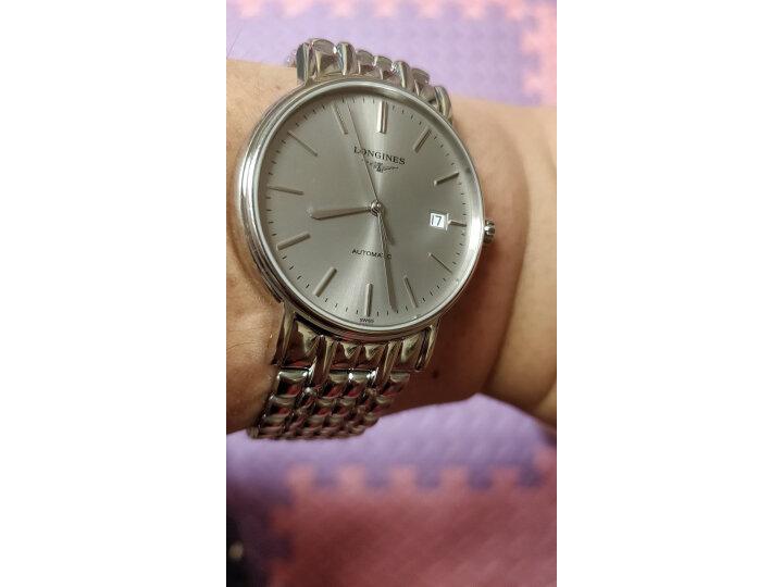 浪琴(Longines)瑞士手表 博雅系列 机械钢带男表 L49104576怎么样【内幕真实揭秘】入手必看 值得评测吗 第9张